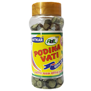 Online Shopping India, Ayurvedic Churan Goli, Pudina Vati Bottle, PDL Hitkar,