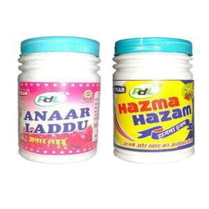 Online Shopping India, Ayurvedic Churan Goli, Combo of Anaar Laddu 100gm + Hazma Hazam 100gm, PDL Hitkar,