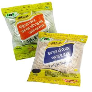 Online Shopping India, Ayurvedic Churan Goli, Combo of Manmohan Amla 100gm + Namkeen Adrak 100gm, PDL Hitkar,
