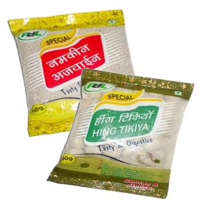 Online Shopping India, Ayurvedic Churan Goli, Combo of Namkeen Ajvain 100gm + Hing Tikiya 100gm, PDL Hitkar,
